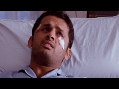 Ishq Movie || Comedy Scene With Nithin In The Hospital || Nitin, Nithya Menen video