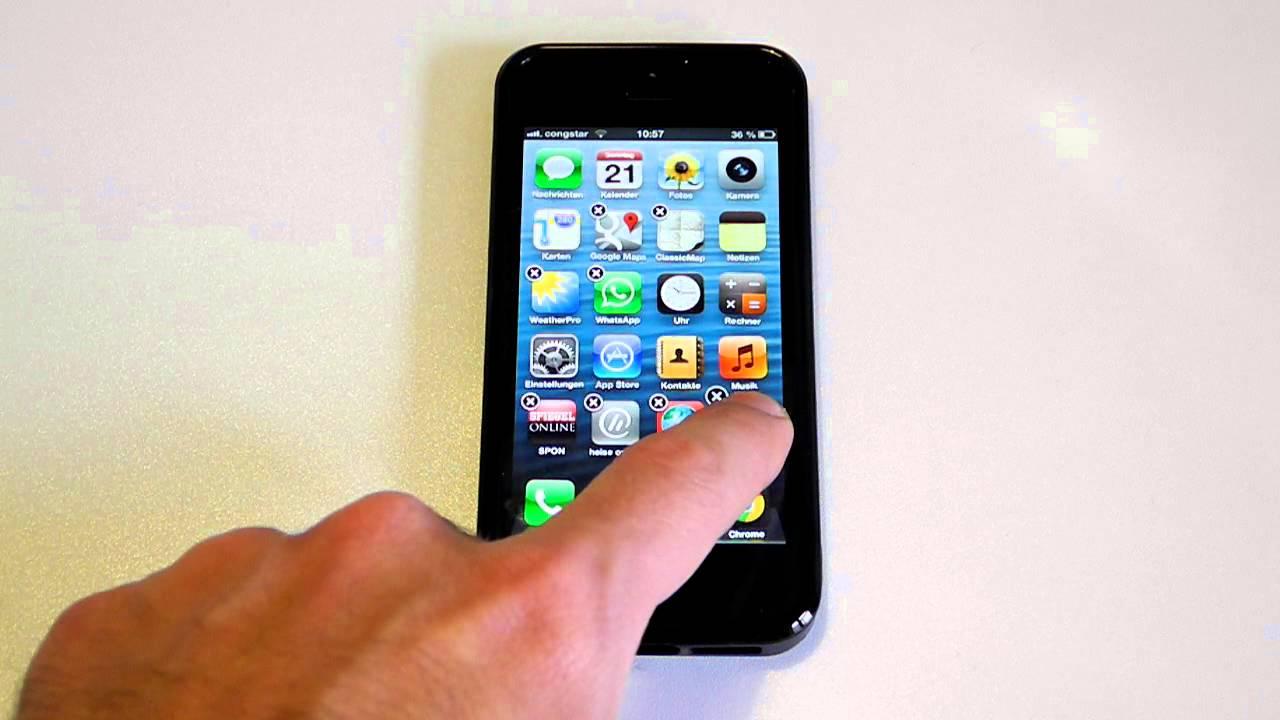 wie kann ich telefonnummern beim iphone 7 löschen