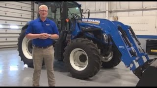 Easy Loader Attachment for New Holland 665TL Loader