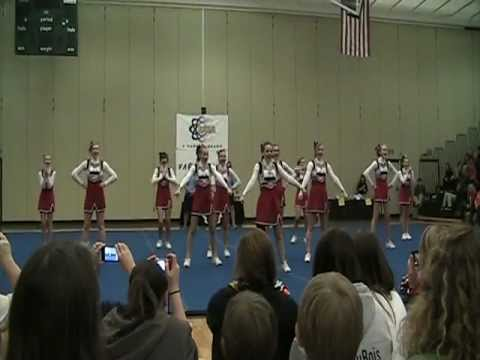 Pershing Middle School Cheerleaders Competition 2011.mpg