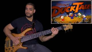 Top 80s and 90s Cartoon Intros | Bass Cover