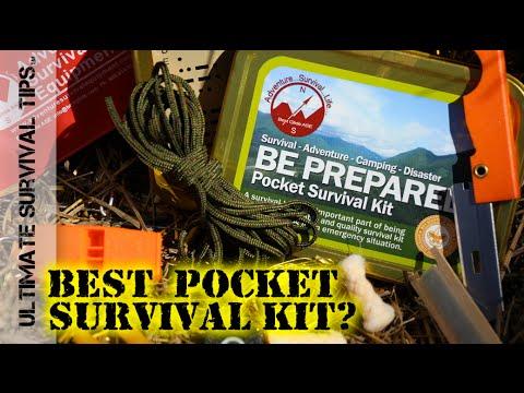 NEW! Best Glide Pocket Survival Kit / Tin + DIY Upgrades - REVIEW - Altoids / Altoid Tin