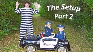 THE SETUP 2 Jail Escape Officer Ryan and Smalls Catch BAD GUY a Family Fun YouTube video