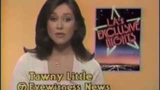 ABC news 1982 with Tawny Little