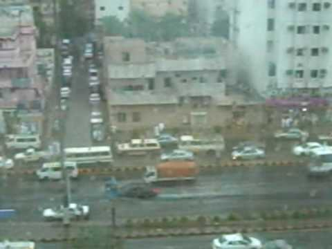 Rain in Mecca on 8th of Dhul Hijja 2009