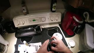 How to change shock oil on an RC vehicle using a vacuum pump and an RPM shock balancing tool