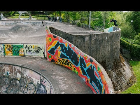 Concrete Dinosaurs Part 3: Livingston Skatepark, Scotland