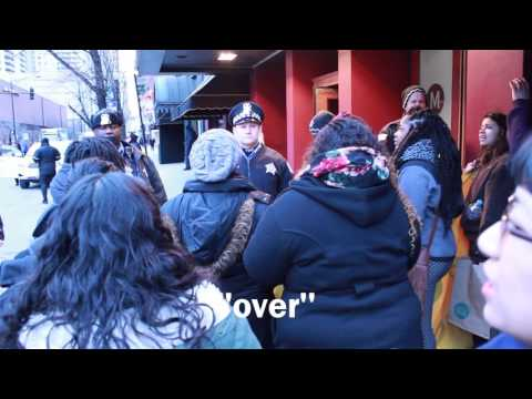 Black youth organizers disrupt Anita Alvarez fundraiser 2.24.16