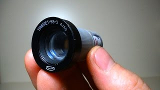 DIY Super MINI telescope How to make at HOME (Homemade refractor)