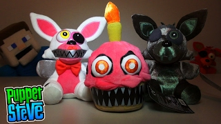 Five Nights at Freddy's FNAF Series 2 Exclusive Plush Funko Nightmare Mangle, Cupcake, Phantom Foxy