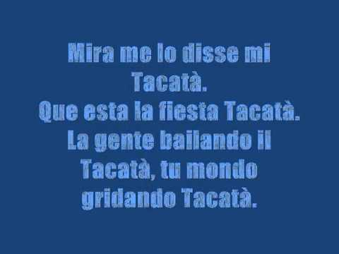 Romano & Sapienza Feat. Rodriguez - Tacatà Lyrics video