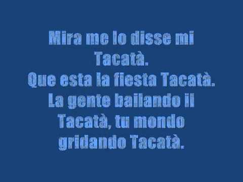 Romano & Sapienza Feat. Rodriguez - Tacatà Lyrics video
