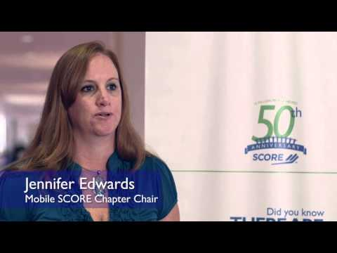 Why I Volunteer with SCORE - Jennifer Edwards - Mobile, AL