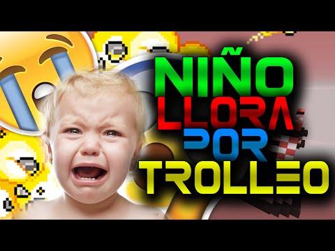 NIÑO LLORA POR TROLEO II Troleando en Minecraft #1