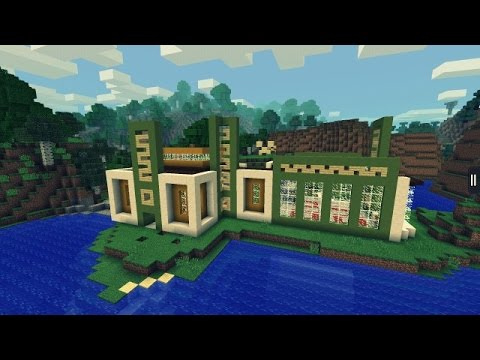 MINECRAFT PE CASA ULTRA MODERNA DESCARGA