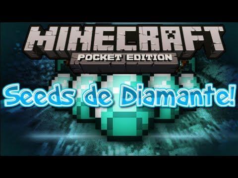 6 Seeds Geniales de Diamante! | Minecraft Pocket Edition