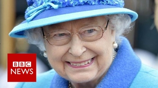 Sapphire Jubilee: The Queen makes history - BBC News