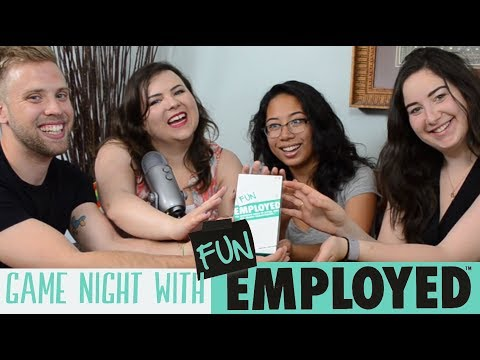 Getting REALLY Competitive with FUNEMPLOYED! (Overview and Gameplay) // Megan MacKay