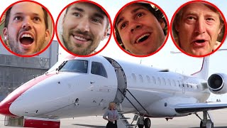 VLOG SQUAD'S PRIVATE PLANE TO LAS VEGAS!!