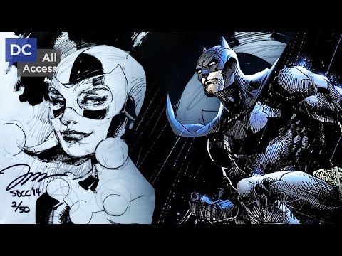 Jim Lee Giving Away 50 Sketches at Comic-Con