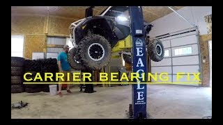 RZR turbo gets a new carrier bearing  *SO SMOOTH*