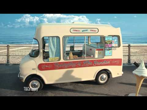 Hastings Direct car insurance - ice cream TV advert