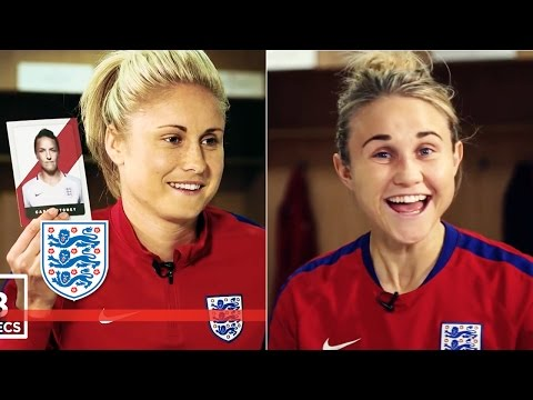 Guess the Lioness - Team Steph Houghton & Izzy Christiansen | Who's Who