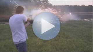 Glock 17 Explosive Ammo!