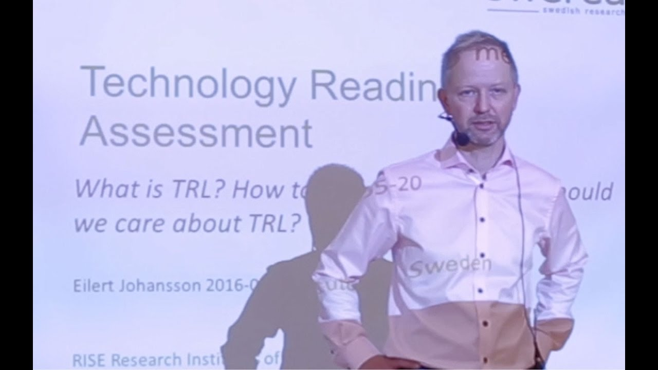 Så jobbar RISE med TRL – Technology Readiness Level