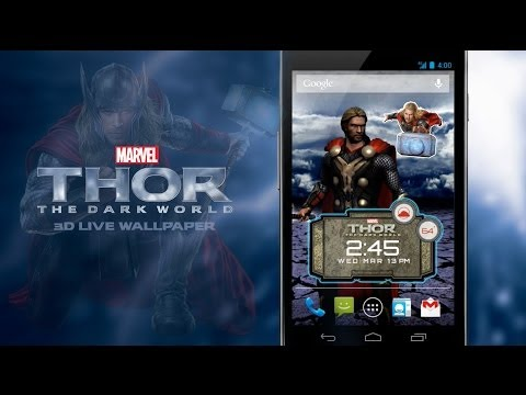 Thor: The Dark World LWP APK Cover