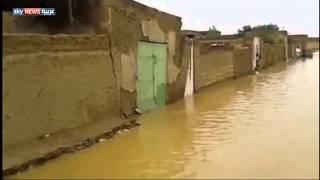 سيول السودان دمرت نحو 3 آلاف منزل