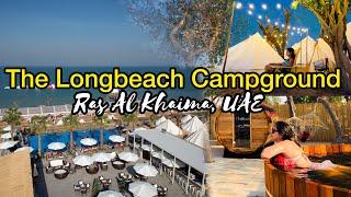 Family Camping- kids fun video - Longbeach Campground - Klein and Peach Adventure