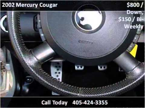 2002 Mercury Cougar Used Cars Oklahoma City OK
