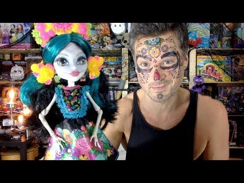 Skelita Calaveras Monster High Adult Collector Amazon Exclusive Unboxing Review