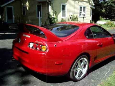 Eric's 1994 Toyota Supra w/PHR Single Turbo