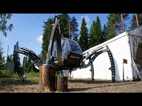 Mantis Hexapod - Elmia Wood 2013