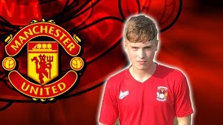 CHARLIE MCCANN | Welcome To Manchester United | Skills 2017  (HD)