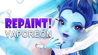Download Lagu Repaint! Vaporeon Pokemon Eeveelution Custom Monster High Ooak Doll Gratis STAFABAND