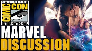 Marvel Phase 4 - Comic Con Panel Discussion