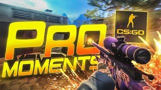 CS:GO - Best PRO Moments! (2017)