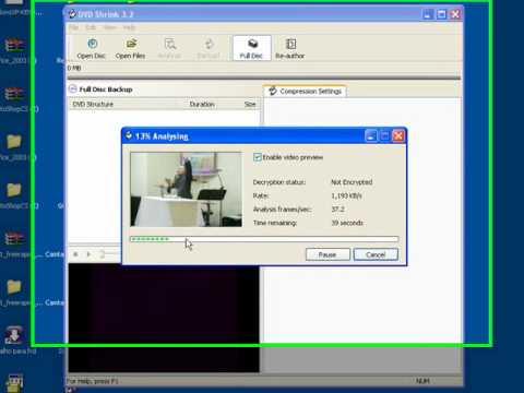 Copiar DVD com o DVDShrink 3.2 - parte01