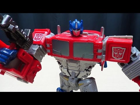 Generations Combiner Wars Optimus Prime: Emgo's Transformers Reviews N' Stuff video