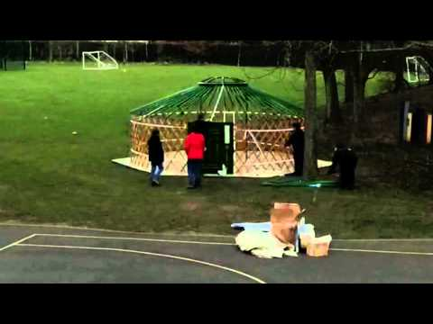 Southfields Primary Time-lapse of our new 'Yurt'