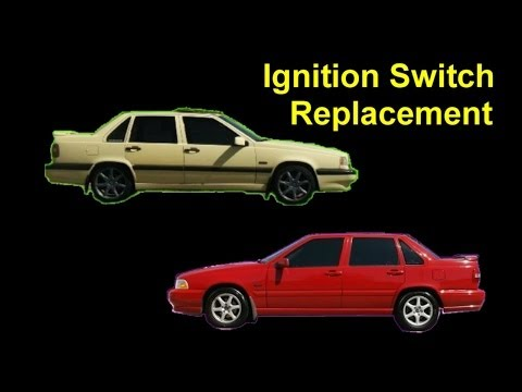 Ignition Switch Replacement. Volvo 850. S70. V70. XC70 - Auto Repair Series