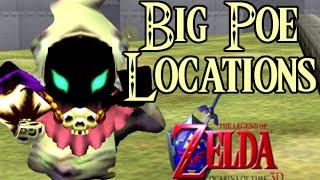 Legend of Zelda Ocarina of Time 3D Big Poe Guide