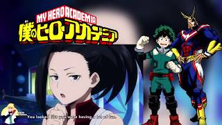 """Deku Caught Flirting with Melissa""Boku no hero movie:two heroes"
