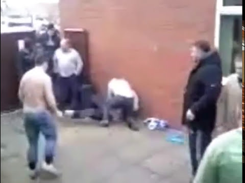Best fight outside london pub