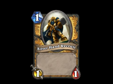 Silver Hand Recruit- Hearthstone Text   Message   Alert Tones (links In Description) video