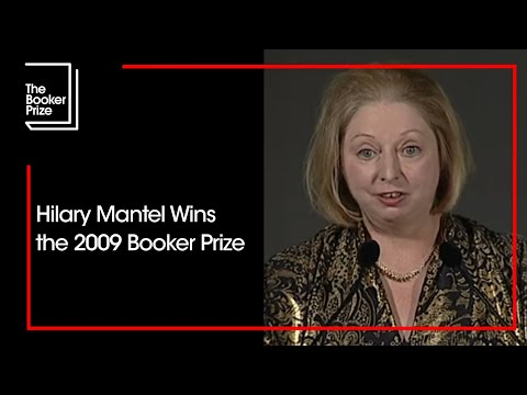 Hilary Mantel's acceptance speech, after winning the Man Booker Prize for Fiction 2009
