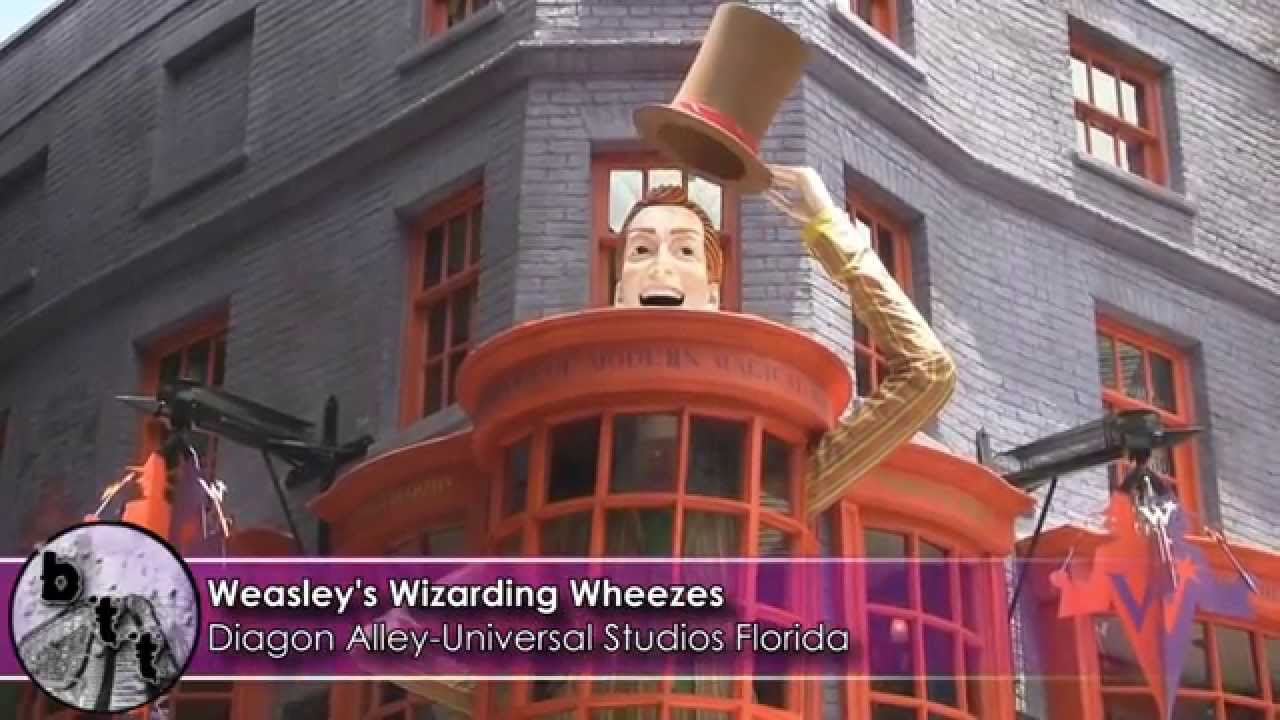 Weasleys Wizard Wheezes Universal Weasley s Wizarding Wheezes at